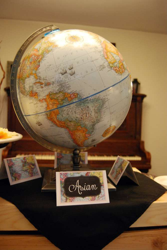 Travel / World / Countries Baby Shower Party Ideas. Country ...