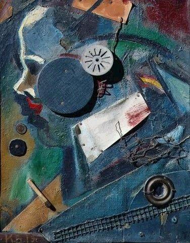 """Mertzbild 1A (el alienista)"" 1919, Museo Thyssen de Madrid*"