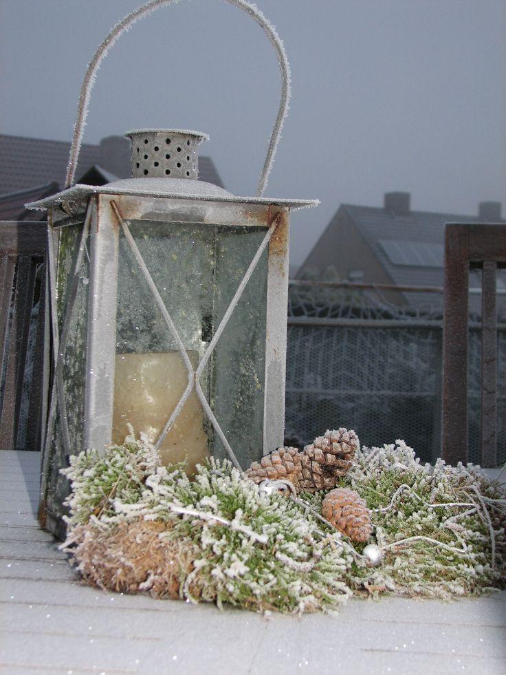 Winter decoratie buiten idee voor buiten pinterest winter - Decoratie binnen veranda ...