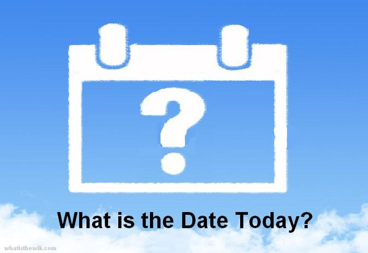 What is the Date Today?    http://whatisthewik.com/date-today/