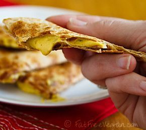 No-queso Quesadillas