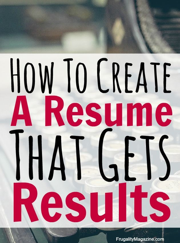Best 25+ How To Create Resume Ideas On Pinterest | Create A Resume