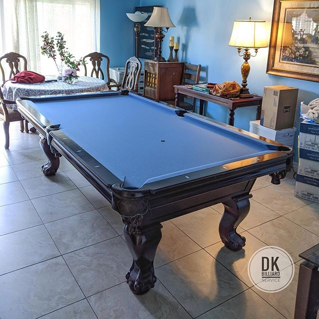8 Foot Imperial International Pool Table Circa 2005 Which Had Dead Cushion Rubber And We Took Care Of That Along With Refelting In 2020 Pool Table Play Pool Billiards