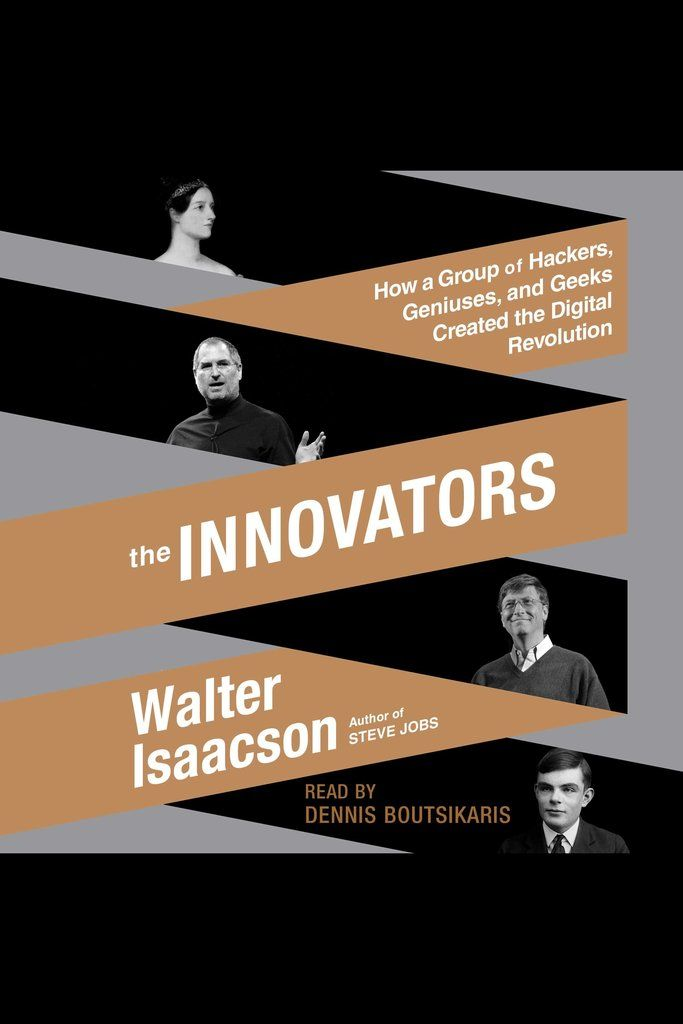 Following his blockbuster biography of Steve Jobs, The Innovators is Walter Isaacson's revealing story of the people who created the computer and the Internet. It is destined to be the standard history of the digital revolution and an indispensable guide to how innovation really happens.