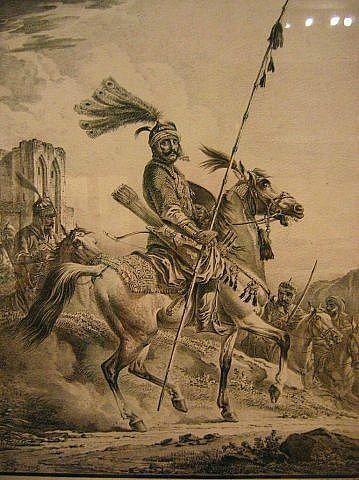 Tatar horseman: