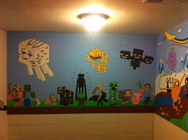 minecraft mural other fan art fan art show your creation minecraft forum boy roomskids - Kids Bedroom On Minecraft