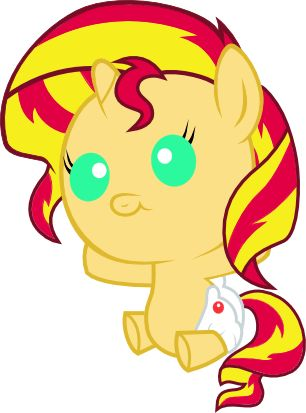 my little pony baby sunset shimmer - Google Search