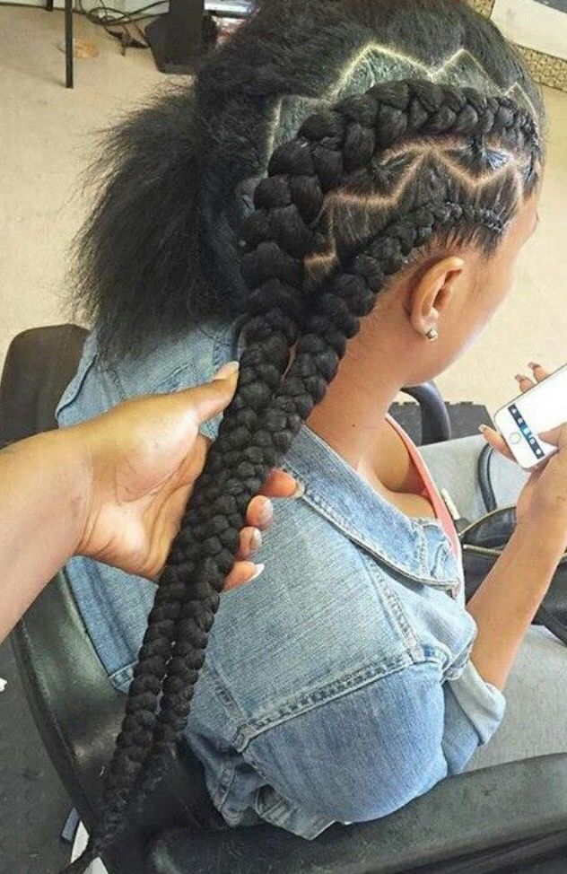 182 best braids and twist images on pinterest hairstyles black zig zag ccuart Images