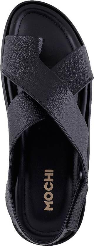 Mochi Men Black Sandals - Buy 11,Black Color Mochi Men Black Sandals Online at Best Price - Shop Online for Footwears in India | Flipkart.com