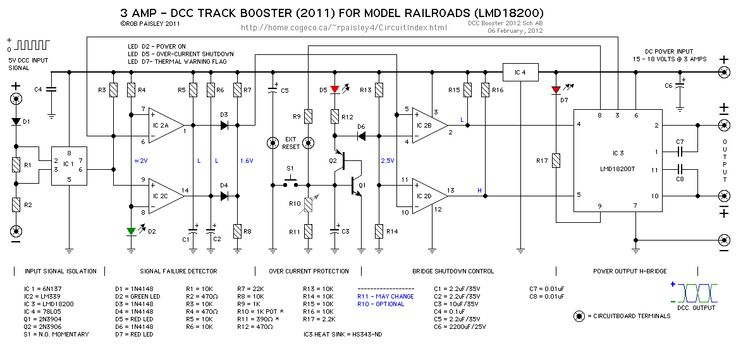dcc booster lmd18200