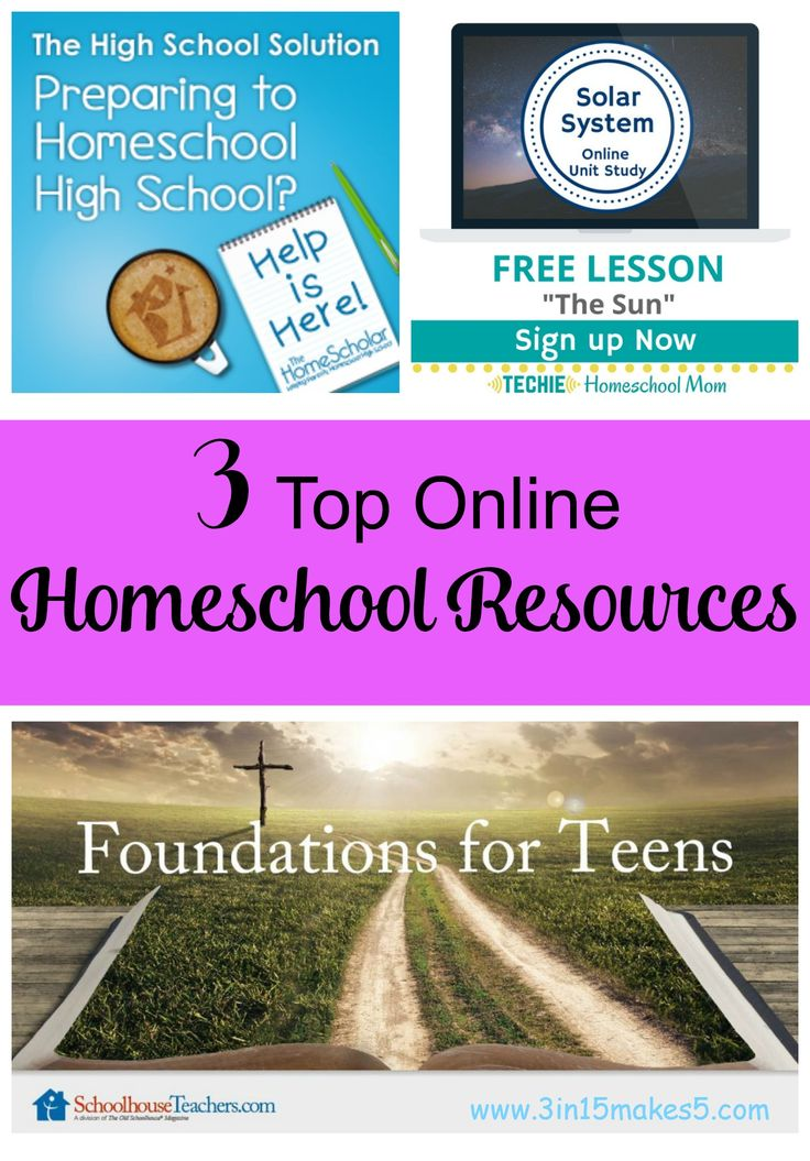 Best 1000 all things homeschool images on pinterest homeschool 3 top homeschool resources fandeluxe Gallery