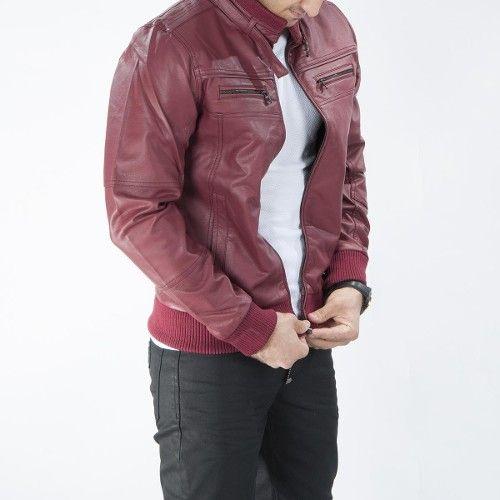 David beckham style deri mont bordo lasti̇kli̇ erkek mont ürünü, özellikleri ve en uygun fiyatların11.com'da! David beckham style deri mont bordo lasti̇kli̇ erkek mont, mont kategorisinde! 335