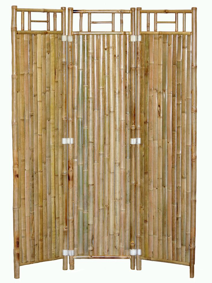 3-panel Bamboo Room Divider Screen