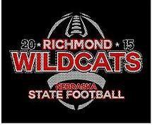 High School Football T-Shirt Design: State Football Playoffs