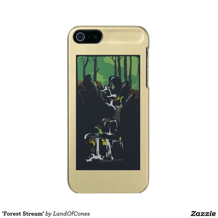 'Forest Stream' Incipio Feather® Shine iPhone 5 Case