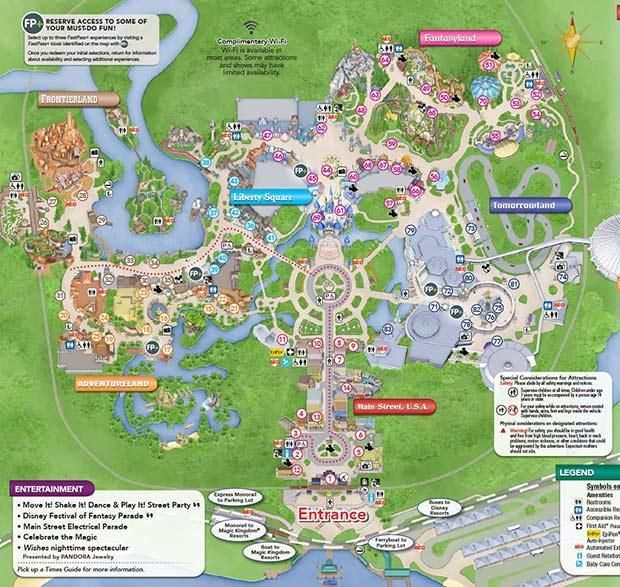 Disney Magic Kingdom Map Smblog Como Recorrer Magic Kingdom Mapa De Disney World Viaje A Disney World Mundos Disney