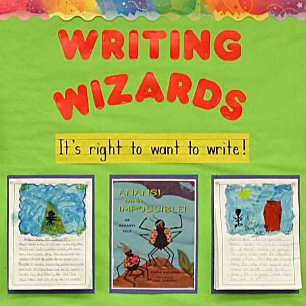 This board is a visual portfolio of students writing, it showcases their writing progress throughout the year. It allows children to revisit their work and think metacognitively about their own learning. It also gives teachers an opportunity to assess their students learning thus far and to think about the next steps for their students and for their own teaching practice in that particular subject area.