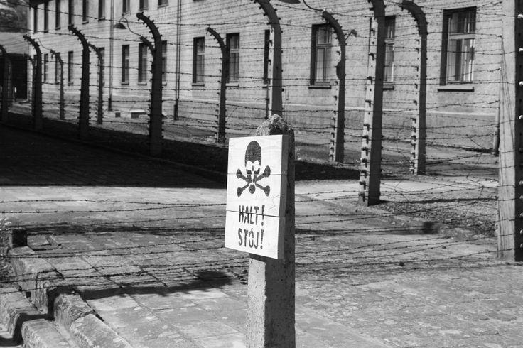 Auschwitz - German extermination camp in Poland