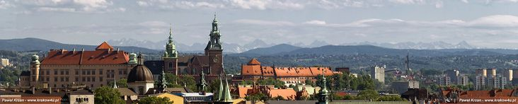 Krakow and Tatry Mountains in the back