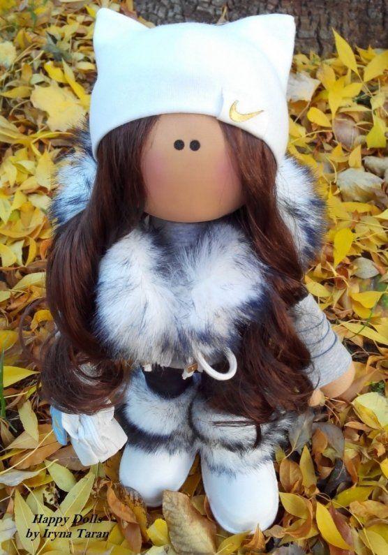 Купити: текстильная игрушка Кукла Nike - Каталог рукоділля zolotiruky.in.ua #22062