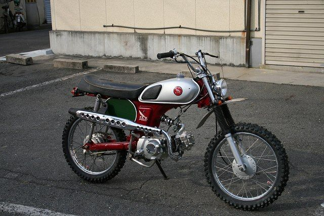 Yes. CL50 Honda, Jet Motorcycles