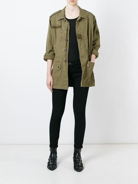 Saint Laurent military field jacket
