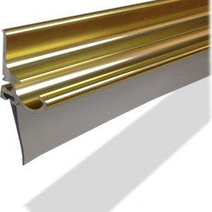 Aluminum Framed Shower Door Drip Rail