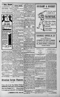 The weekly messenger. (St. Martinsville [i.e. St. Martinville] La.) 1886-1948, April 27, 1912, Image 3, brought to you by Louisiana State University; Baton Rouge, LA, and the National Digital Newspaper Program.