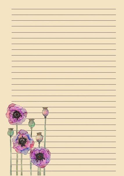 205 best Clip Art~Lined Paper \ Printables images on Pinterest - diary paper printable