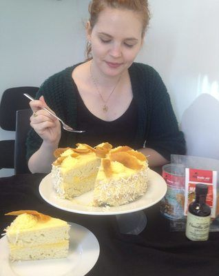 RUNNER UP | Southeast Asian Mango Coconut Cake | Kate E. | #BigFairBake