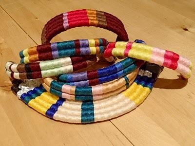 semi jewels wrap bracelet: Schools Color, School Colors