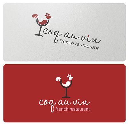 Coq Au Vin Logo.
