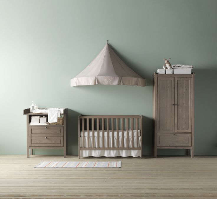 SUNDVIK babybedje, commode/ladekast en garderobekast  #IKEAcatalogus ...