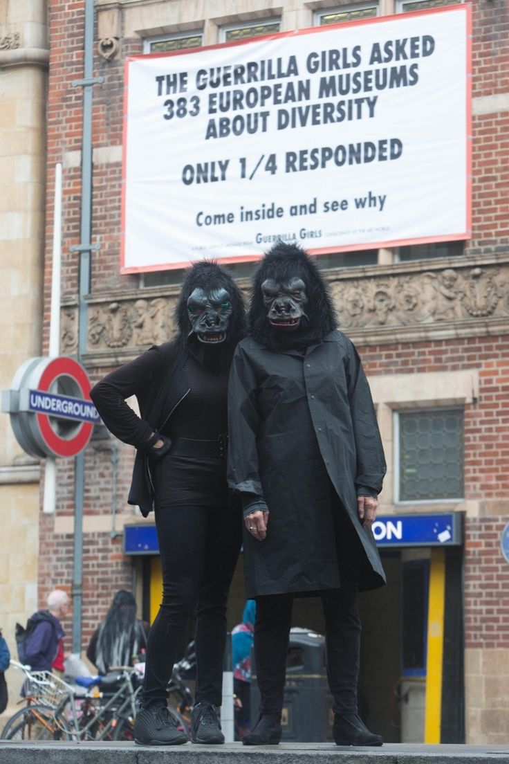The Guerrilla Girls Have Proof That the Art World Needs More Women Leaders