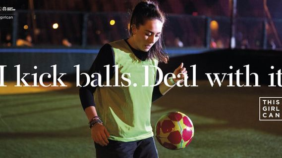 Creative Review - Sport England launches This Girl Can campaign