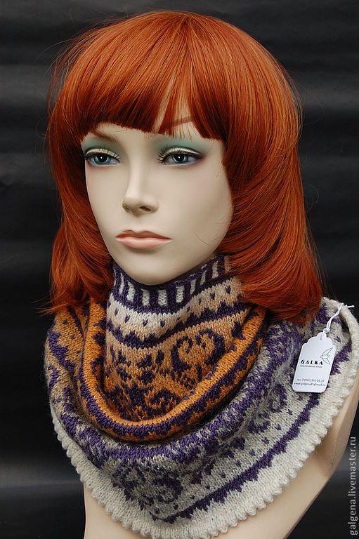 Купить или заказать Яркий, женственный, теплый и легкий снуд из шерсти. в интернет-магазине на Ярмарке Мастеров. Пожалуй, самым нужным, многофункциональным и привлекающим внимание аксессуаром является шарф - снуд, защищающий от прохладного ветра и прибыльно выделяющий уникальный стиль одежки. Теплозащита остается основной функцией уникальных снудов — удобная мода.