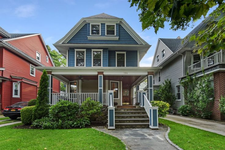 New York City Boroughs ~ Brooklyn | Victorian house, 756 Argyle Road, Midwood