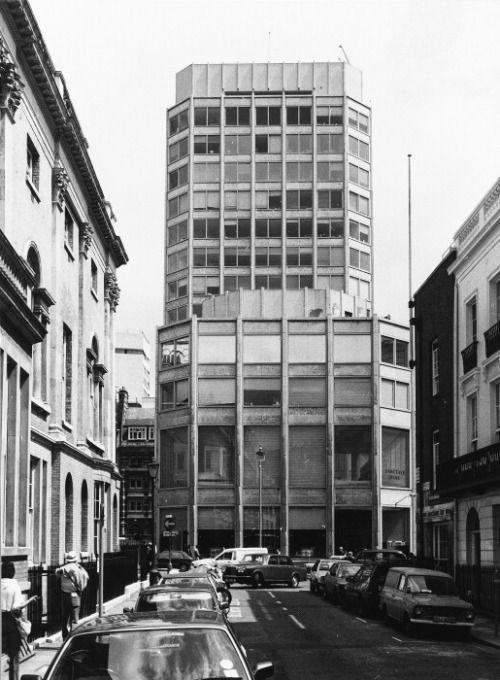 Alison & Peter Smithson, Economist Building, St James's Street, LondonCopyright: © Courtauld Institute of Art