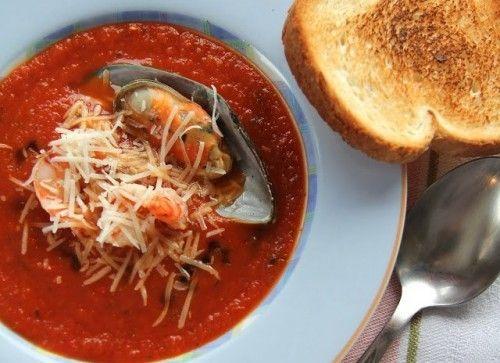 Томатный суп, рецепты томатного супа / Простые рецепты