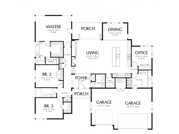 120 best House Floor Plans images on Pinterest | House floor plans ...