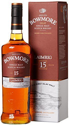 bowmore 15 Years Old laimirig avec emballage cadeau Whisky (1 x 0,7 L): Bowmore Laimrig 15 Year Old Single Malt Whisky L'article bowmore 15…