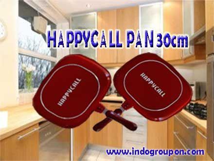 Nasional - Diskon - Happy Call Double Pan Jumbo 30 cm Original Korea Hanya Rp 225.000