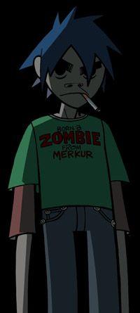 Гориллаз Арт — гориллаз-искусство: рождение зомби