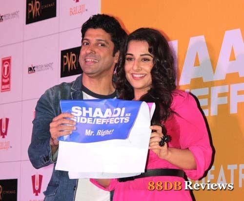 'Shaadi Ke Side Effects' Trailer Launch