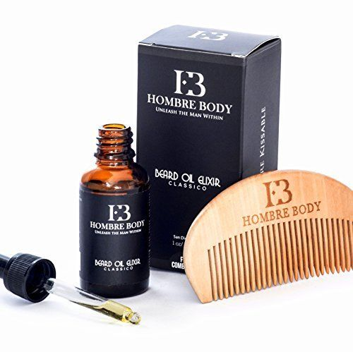 Unscented Beard Oil Elixir & Comb Gift Set for Professional Men-Facial Hair Softener, Moisturizer & Conditioner-Enriched with Antioxidants with All Natural, Organic Ingredients (30ml)  #30ml #Antioxidants #Beard #Comb #ConditionerEnriched #Elixir #Gift #Hair #Ingredients #MenFacial #Moisturizer #Natural #Organic #Professional #RusticGrandfatherClock #Softener #Unscented The Rustic Clock