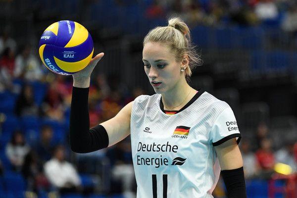 Louisa Lippmann Photos Photos Fivb Women S World Championship Day 1 In 2020 World Championship Women Volleyball Louisa