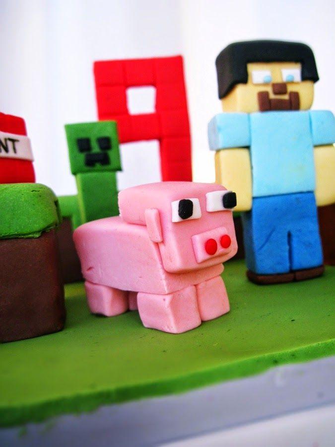 Tort urodzinowy: Minecraft
