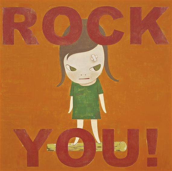 Yoshitomo Nara, ROCK YOU !