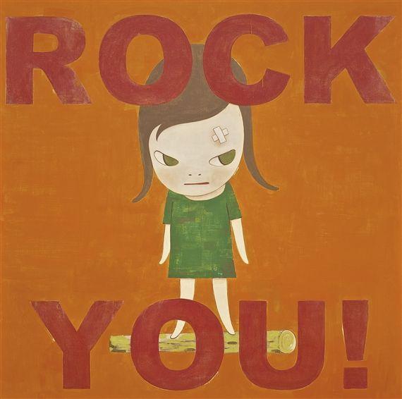 Yoshitomo Nara, ROCK YOU !