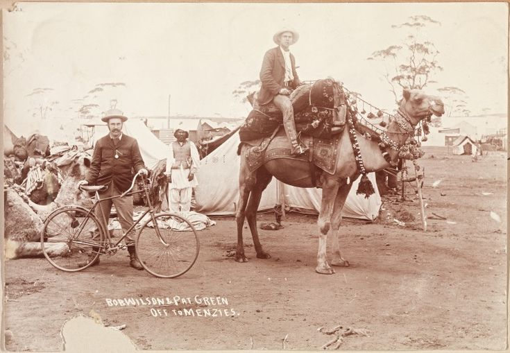 400B/50: Bob Wilson and Pat Green off to Menzies, from Coolgardie, 1896. http://encore.slwa.wa.gov.au/iii/encore/record/C__Rb4539066__SBob%20Wilson%20and%20Pat%20Green%20off%20to%20Menzies%20__Orightresult__U__X6?lang=eng&suite=def